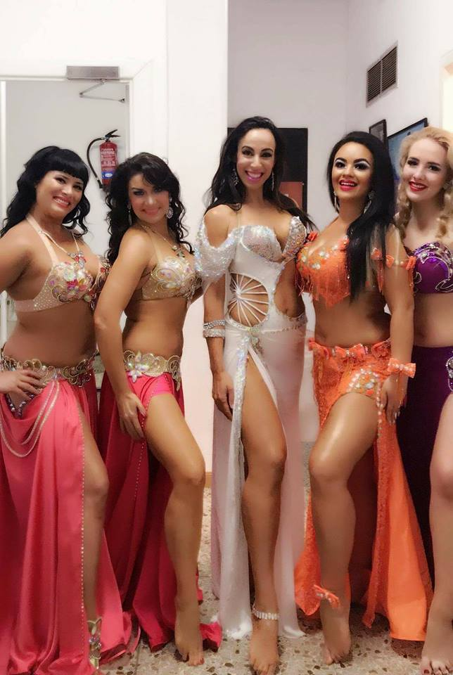 Bellydance Aziza Backstage Madrid 2017