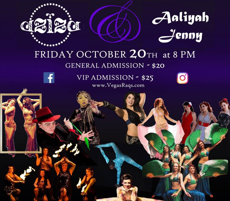 Belly dance Aziza Vegas Raqs 2017